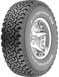 BF Goodrich All-Terrain T/A  125R  275/70R18